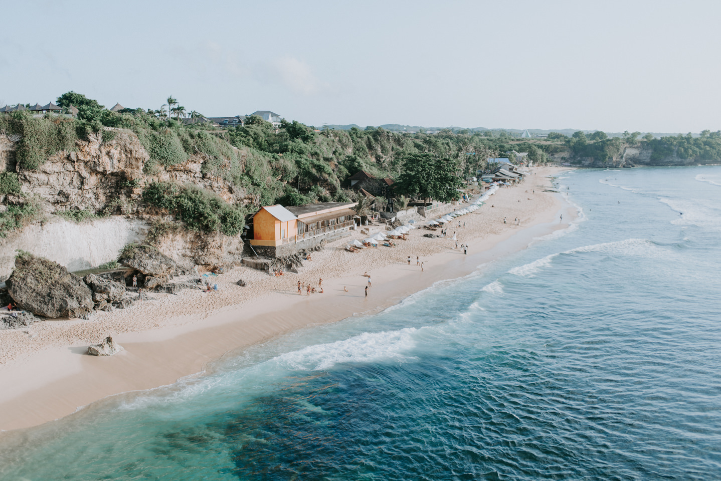 Balangan Beach vibes from above the cliff