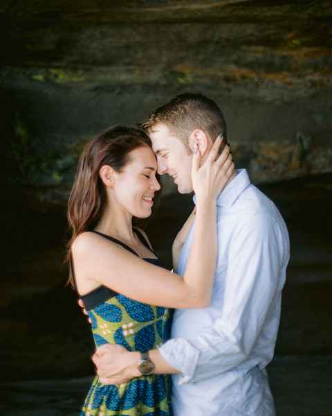 Engagement Photos in Nyanyi Beach + Quick Tips — V & A