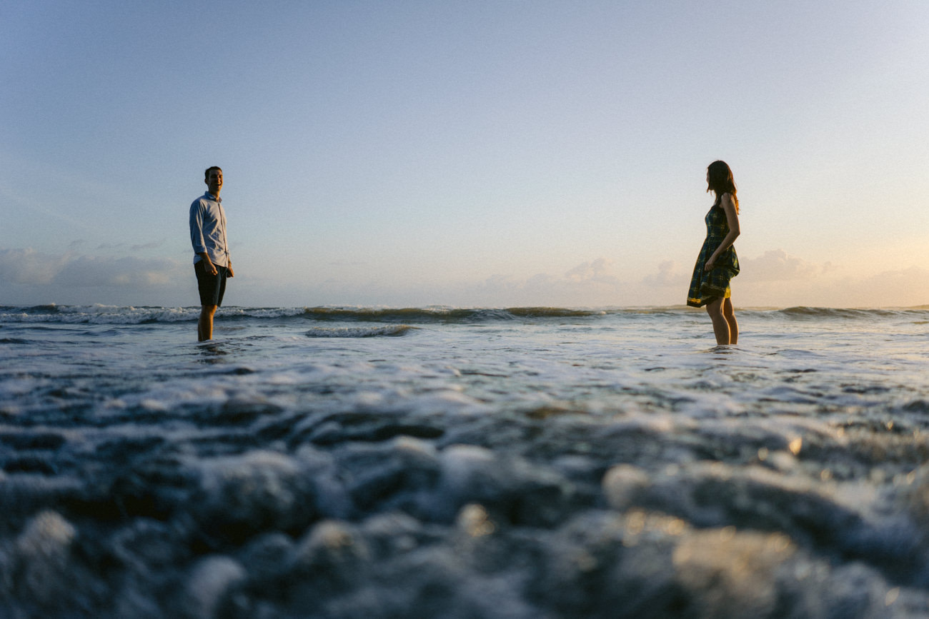 Engagement photos in Nyanyi Beach