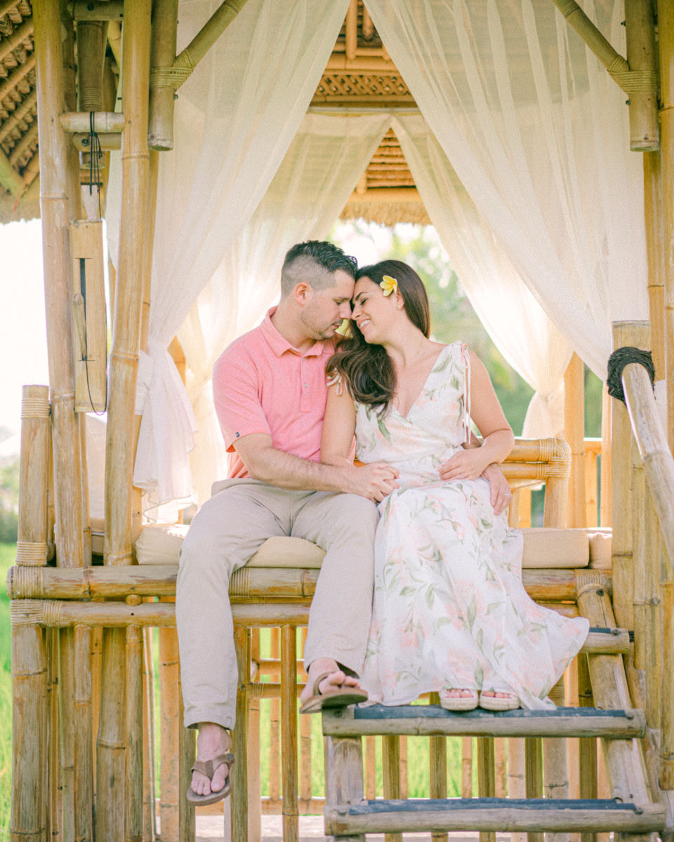 Honeymoon photo session in Bali