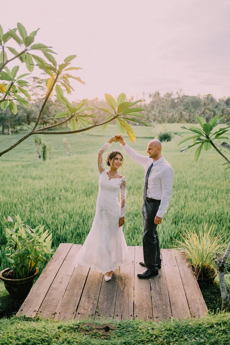 Bridal Party of Micro Wedding Photography in Ubud