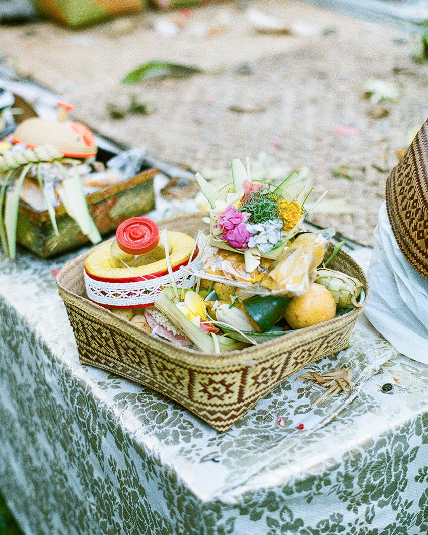 """The """"banten"""" or offering in English"""